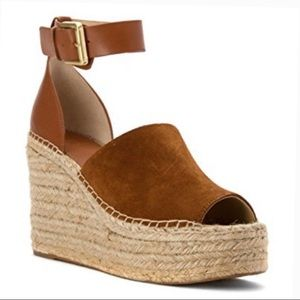 NWT Marc Fisher Adalyn Platform Espadrille Wedge